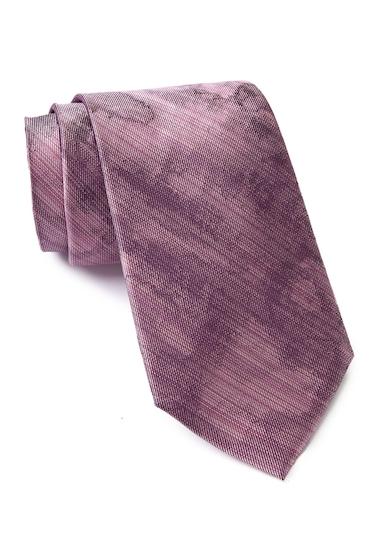 Accesorii Barbati Calvin Klein Watercolor Silk Tie PINK