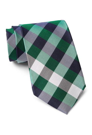 Accesorii Barbati Tommy Hilfiger Silk Multi Sized Gingham XL Tie GREEN