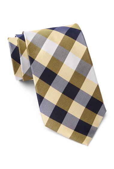 Accesorii Barbati Tommy Hilfiger Silk Multi Sized Gingham XL Tie YELLOW