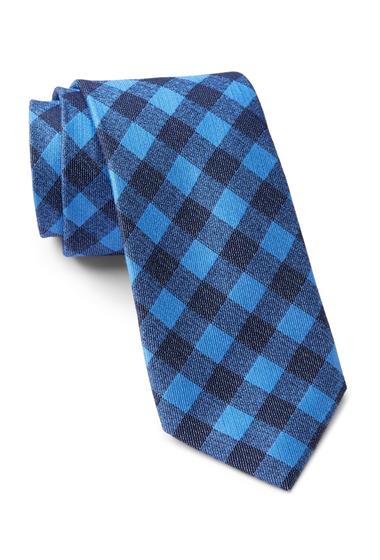 Accesorii Barbati Tommy Hilfiger Denim Gingham Tie BLUE