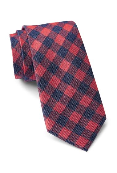 Accesorii Barbati Tommy Hilfiger Denim Gingham Tie RED