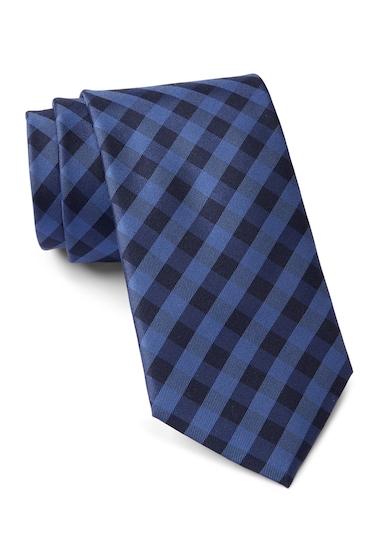 Accesorii Barbati Tommy Hilfiger Silk Micro Buffalo Tie NAVY
