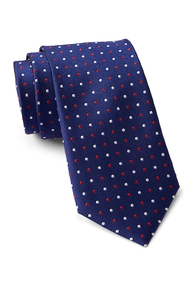 Accesorii Barbati Tommy Hilfiger Silk Multi Pin Dot Tie RED CLAY