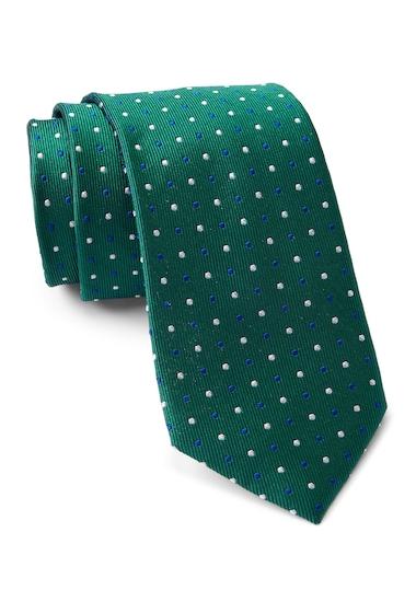 Accesorii Barbati Tommy Hilfiger Silk Multi Pin Dot Tie GREEN