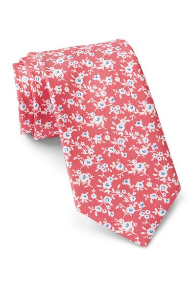 Accesorii Barbati Tommy Hilfiger Silk Flower Print Tie PINK