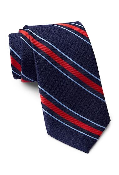 Accesorii Barbati Tommy Hilfiger Silk Grenadine 1 Tie NAVY