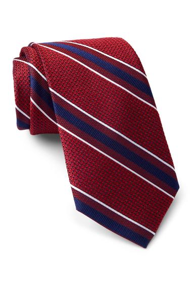 Accesorii Barbati Tommy Hilfiger Silk Grenadine 1 Tie RED