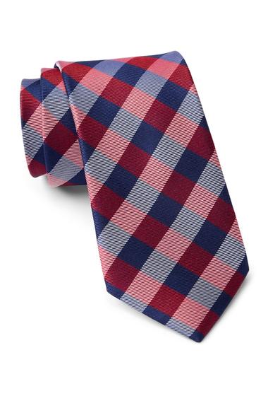 Accesorii Barbati Tommy Hilfiger Silk Big Gingham Tie RED