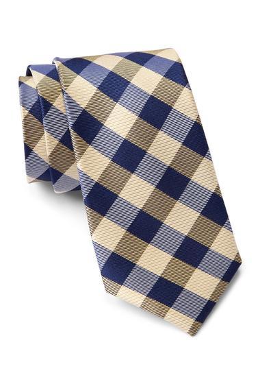 Accesorii Barbati Tommy Hilfiger Silk Big Gingham Tie YELLOW