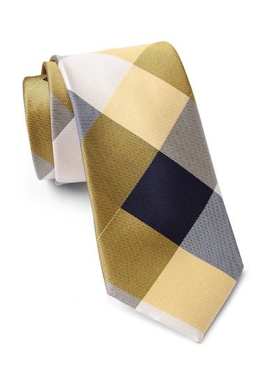 Accesorii Barbati Tommy Hilfiger Silk Huge Buffalo Tie YELLOW