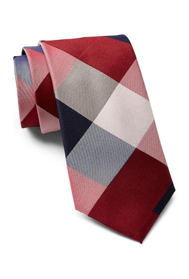 Accesorii Barbati Tommy Hilfiger Silk Huge Buffalo Tie RED