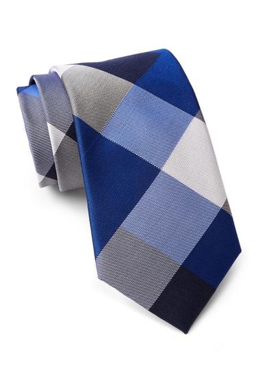 Accesorii Barbati Tommy Hilfiger Silk Huge Buffalo Tie NAVY