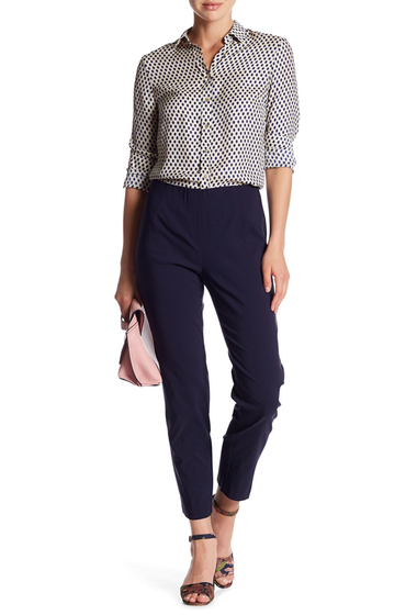 Imbracaminte Femei Insight Apparel Techno Faux Fly Ankle Pant NAVY