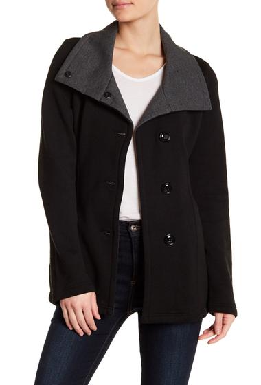 Imbracaminte Femei Sebby Fleece Belted Jacket Plus Size BLACKCHAR