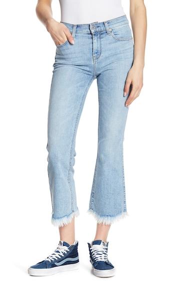 Imbracaminte Femei 7 For All Mankind Cropped Ali Fray Hem Straight Leg Jeans RADNTWYTH