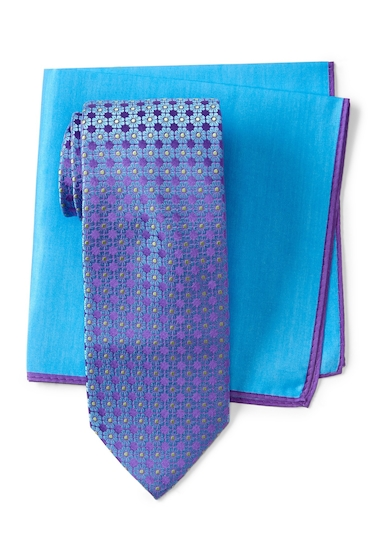 Accesorii Barbati Ted Baker London Large Flower Neat Silk Tie PURPLE