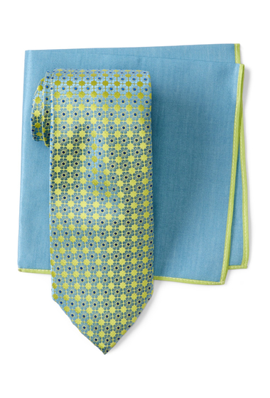 Accesorii Barbati Ted Baker London Large Flower Neat Silk Tie LIME
