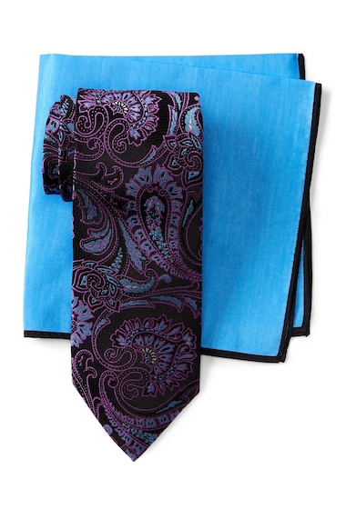 Accesorii Barbati Ted Baker London Lattice Paisley Silk Tie BLACK