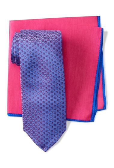 Accesorii Barbati Ted Baker London Frame Circle Silk Tie BLUECORAL