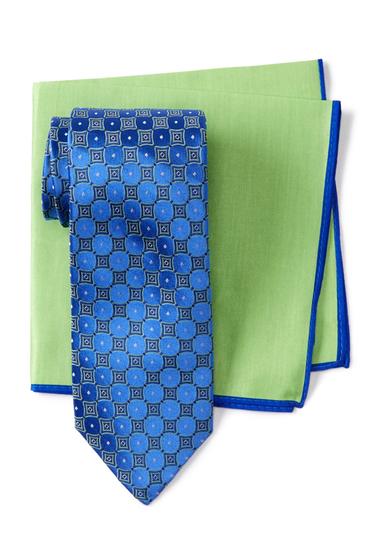 Accesorii Barbati Ted Baker London Frame Geo Silk Tie BLUE