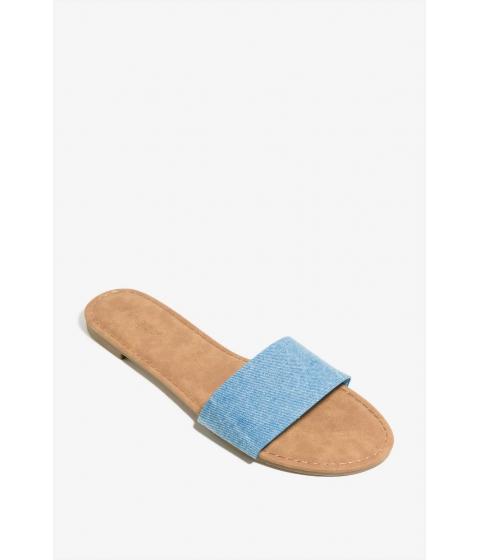Incaltaminte Femei CheapChic City Girl Sandal Med Wash Denim