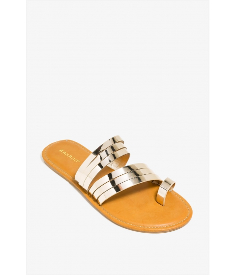 Incaltaminte Femei CheapChic Heating Up Sandal Metallic Gold