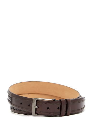 Accesorii Barbati Mezlan Dama Parma Woven Leather Belt BROWN