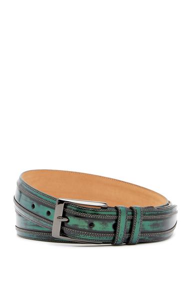 Accesorii Barbati Mezlan Shade Leather Belt GREEN
