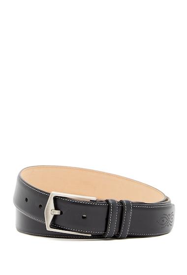 Accesorii Barbati Mezlan Diver Leather Belt BLACK