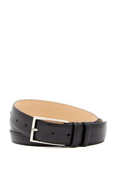 Accesorii Barbati Mezlan Lipari Leather Belt BLACK