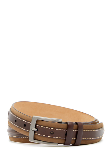 Accesorii Barbati Mezlan NobokParma Leather Belt OLIVEBROWN