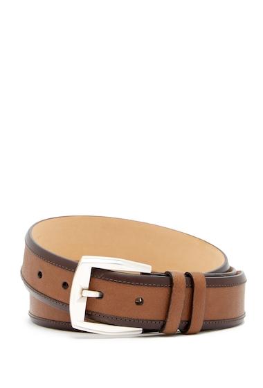 Accesorii Barbati Mezlan Lipari Leather Belt COGNCBROWN