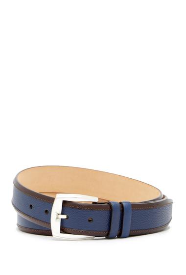 Accesorii Barbati Mezlan Lipari Leather Belt BLUEBROWN