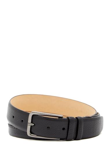 Accesorii Barbati Mezlan Perseo Leather Belt BLACK