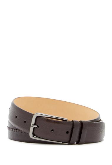 Accesorii Barbati Mezlan Perseo Leather Belt BROWN