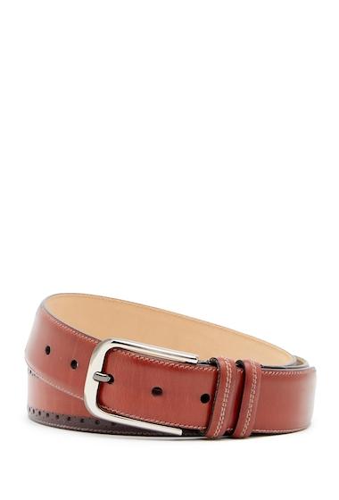 Accesorii Barbati Mezlan Diver Brogued Leather Belt RUST