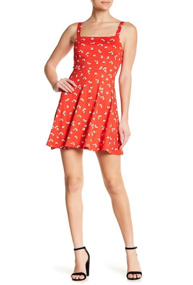 Imbracaminte Femei Abound Easy Tank Dress RED CHILI FLORAL