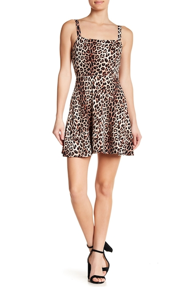 Imbracaminte Femei Abound Easy Tank Dress BLACK LEOPARD