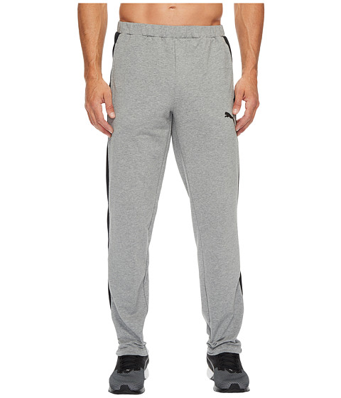 Imbracaminte Barbati PUMA Stretch Lite Pants Open Medium Gray Heather