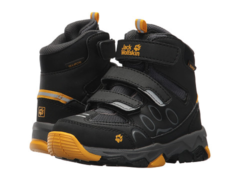 Incaltaminte Baieti Jack Wolfskin Mountain Attack 2 Waterproof Mid VC (ToddlerLittle KidBig Kid) Burly Yellow