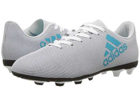 Incaltaminte Baieti adidas X 174 FxG J Soccer (Little KidBig Kid) Footwear WhiteEnergy BlueClear Grey