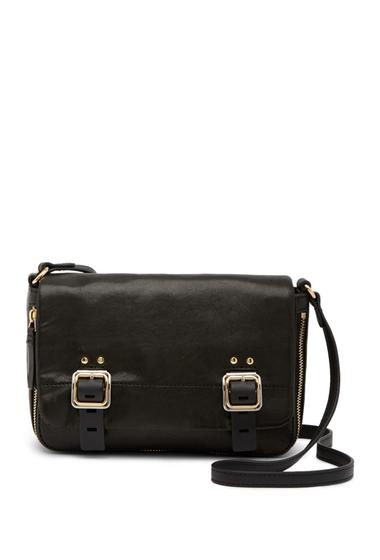 Genti Femei Vince Camuto Delos Leather Crossbody Bag BLACK 01