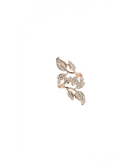Bijuterii Femei Forever21 Rhinestone Leaf Ring ROSE GOLDCLEAR
