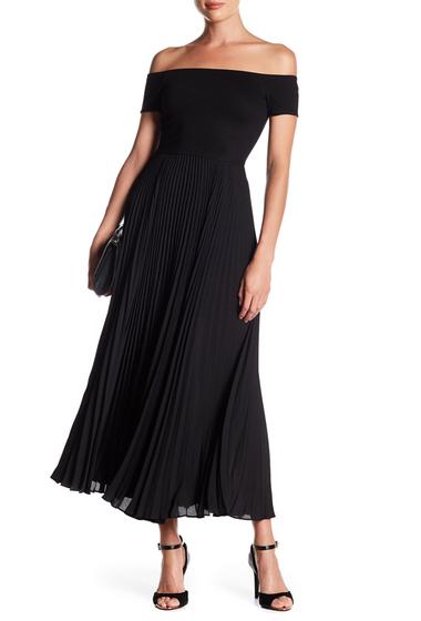 Imbracaminte Femei Alice Olivia Ilana Off-the-Shoulder Maxi Dress BLACK