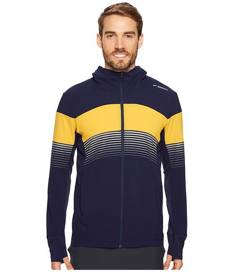 Imbracaminte Barbati Brooks Canopy Jacket NavyFinch Stripe