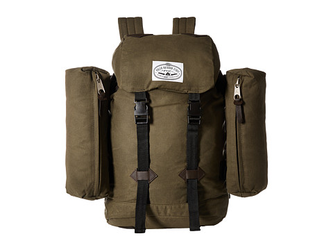 Genti Barbati Calvin Klein Excursion Pack Backpack Waxed Burnt Olive