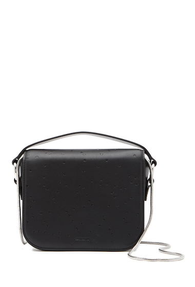 Genti Femei ALLSAINTS Echo Leather Clutch BLACK