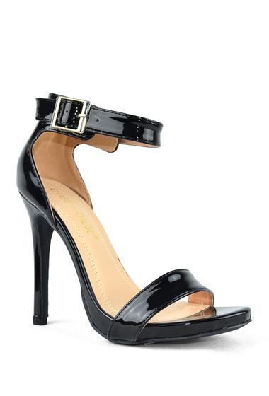 Incaltaminte Femei Chase Chloe Rio Ankle Strap Stiletto Sandal BLACK PATENT