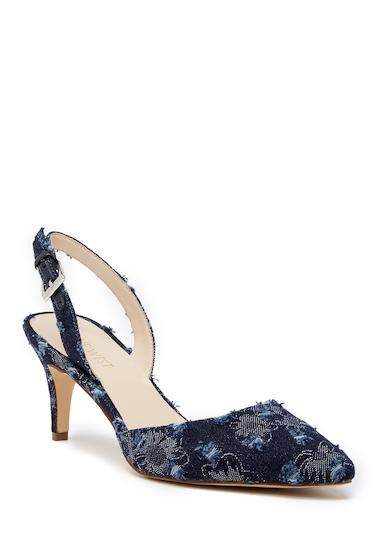 Incaltaminte Femei Nine West Epiphany Slingback Sandal - Wide Width Available BLUE DE