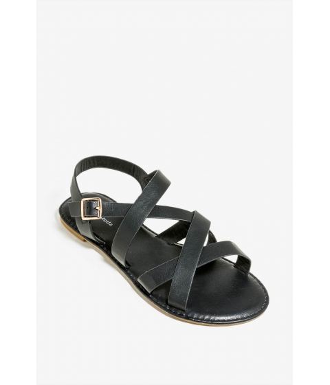 Incaltaminte Femei CheapChic Not With It Sandal Black